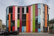 Junior-Uni: Südostfassade