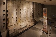 9/11 museum: former Twin tower's anchor bolts, fig. 1