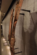 9/11 museum: reputed iron-beam directly hit by a terror-plane