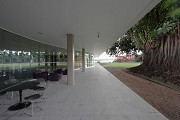 Brasilia-Palace: eastern event-section, veranda 2