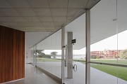 Brasilia-Palace: eastern event-section, hall & veranda