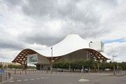 Centre Pompidou-Metz: south-western view