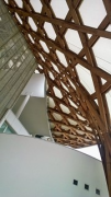 Centre Pompidou-Metz: roof bottom-view with building joint, fig. 1