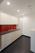 Euro-Tower, Frankfurt: 32. level - kitchenette, pict 1