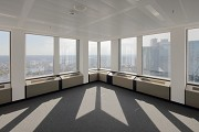 Euro-Tower, Frankfurt: 32. level - northwestern view