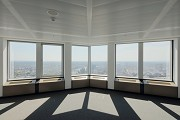 Euro-Tower, Frankfurt: 32. level - southwestern view