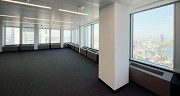 Euro-Tower, Frankfurt: 32. level - southeastern view with Commerzbank and new EZB-tower