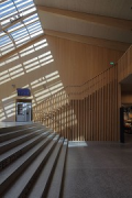 A2 Gotthard motorway-station: stairhouse, shadows, fig. 2