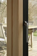 Spelbergs-Busch: outside opening terrace door, handle-detail