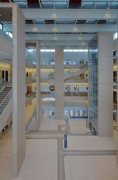 Bochum justice center: great lobby