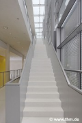 New Chemistry, JLU Gießen: main-axis-staircase; photo: Laternus/Berndt