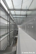 New Chemistry, JLU Gießen: technical-level floor; photo: Dajs