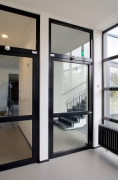 KatHo Aachen: staircase-access, closed fire-door
