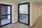 KatHo Aachen: upper level staircase-access and floor