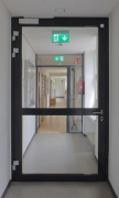 KatHo Aachen: fire-door in one-story administration-wing