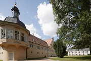 Hunting lodge Kranichstein: historic part and extension