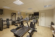 Hunting lodge Kranichstein: basement fitness gym 1