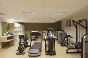 Hunting lodge Kranichstein: basement fitness gym 2