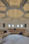 Kurfürstendamm 188: roof-level-office, oriel rotunda lecture-room