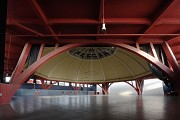 Cabbage Crcus - Leipzig central market: Northern dome and its sub-structure