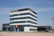 Liebherr, Hamburg: southern view of office-building