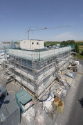 Construction site System Building, southeast view 3, elevated