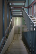 Construction site System Building, stairs 1