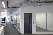 system-building, open-plan office floor-area