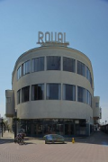 Royale-Theatre, Heerlen: main-entrance on east-side
