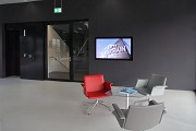 Saint-Gobain: ground-floor waiting-area, video