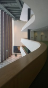 UN-Headquarters: 2nd-floor gallery of General Assembly entrance-lobby