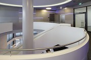 WTZ Heilbronn: lobby-staircase, top-level-connection
