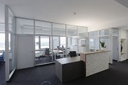 WTZ Heilbronn: mock-up office, lobby, landscape pict