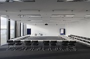 Aesculap Academy, seminar room, lights off