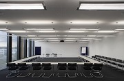 Aesculap Academy, seminar room, lights on
