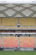 Arena da Amazônia: southern stand view, close