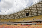 Arena da Amazônia: bottom view eastern stand roof