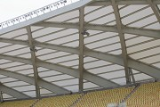 Arena da Amazônia: bottom view stadium roof