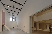 Arlberg1800: The exhibition hall is part of the concert hall lobby