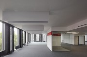 BASF Pfalzgrafenstraße: open-office with red meeting-cube