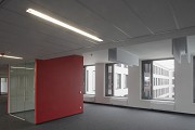 BASF Pfalzgrafenstraße: open-office with red single-work-cube 2