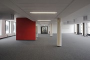 BASF Pfalzgrafenstraße: open-office with red single-work-cube 3