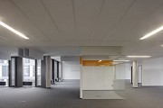 BASF Pfalzgrafenstraße: open-office with yellow meeting-cube 1