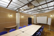 Becker steelworks, founder center: inner view of meeting room 2