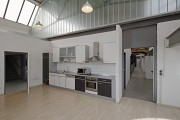 Becker steelworks, founder center: kitchen 1