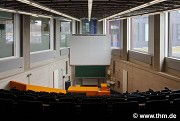 BFS, JLU Giessen: ground floor, small lecture hall, axial view (photo: Lindeholz)