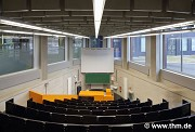 BFS, JLU Giessen: ground floor, small lecture hall, axial view with ghost (photo: Reuter)