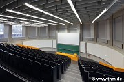 BFS, JLU Giessen: ground floor, big lecture hall, total view (photo: Kitzing)