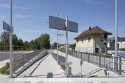Bedburg Station: access track underpass