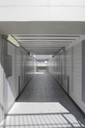 Bedburg Station: track underpass